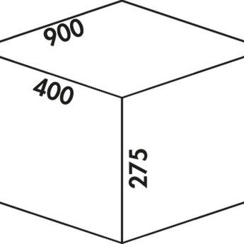 Naber Cox - Box 275 S/900-4. lichtgrijs.