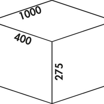 Naber Cox - Box 275 S/1000-4. lichtgrijs.