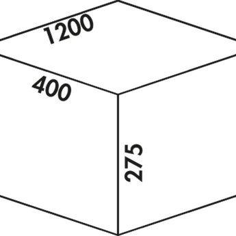 Naber Cox - Box 275 S/1200-6 Bio. lichtgrijs.