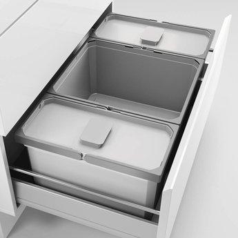 Naber Cox - Box 220/800-3, Verzamelsysteem, licht grijs,