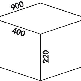 Naber Cox - Box 220/900-3, Verzamelsysteem, licht grijs,