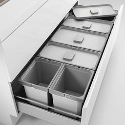 Ladeindeling Cox Box 220/1200-6 Kastinrichting licht grijs