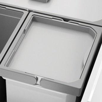 Naber Sluitdeksel, lichtgrijs, voor 4, 6, 7 en 10 liter, Verzamelsysteem,