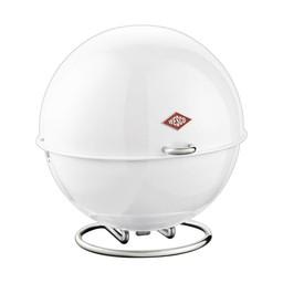 Naber Superball, Bewaardoos van stalen plaat, wit,