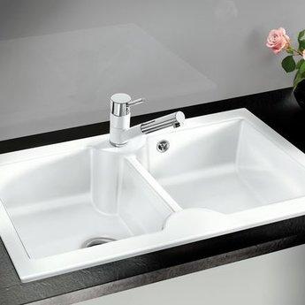 Blanco IDESSA 9S CER kristal wit glanzend