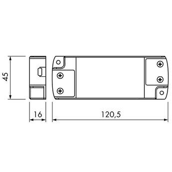 Naber Converter 6. wit. 15 watt, 12 V DC,