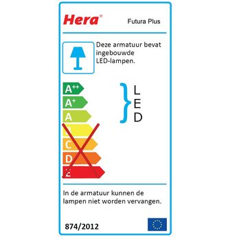 Hera Futura Plus Light - LED elementen.