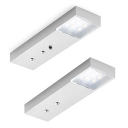 Naber LED Keukenverlichting - Trave II Set-2 met LED Touch schakelaar en dimmer. Onderbouwlamp.