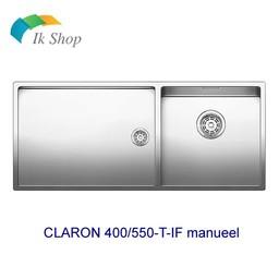 Blanco Spoelbak-CLARON 400/550-T-IF manueel
