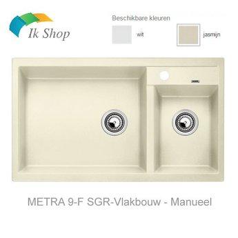 Blanco Spoelbak Silgranit - Blanco-METRA 9-F-Vlakbouw - Manueel