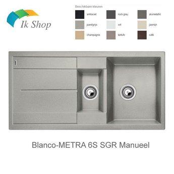 Blanco METRA 6S SGR Manueel