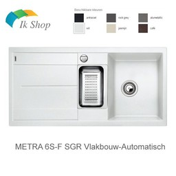 Blanco Spoelbak - Blanco-METRA 6S-F SGR Vlakbouw-Automatisch