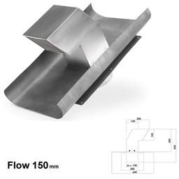 Naber Luchtafvoer flow150 Dakverluchting, roestvrij staal