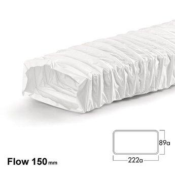 Naber F-NFRS Flexibele slang Flow 150, wit