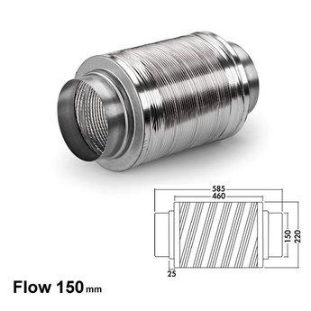 Naber Geluiddemper 150, aluminium