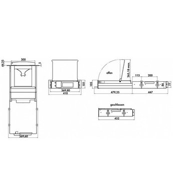 Naber Plintstofzuiger Gronbach M6RC-OAL