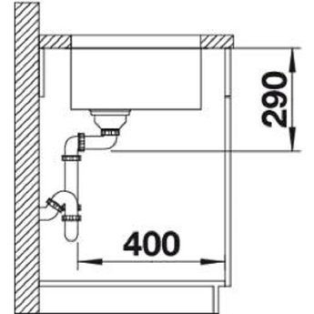 Spoelbak keuken - ANDANO 340U - Manuele of Automatische bediening