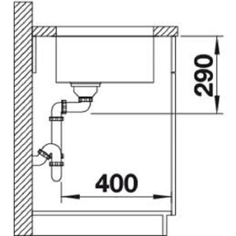 Spoelbak keuken - ANDANO 500U - Manuele of Automatische bediening