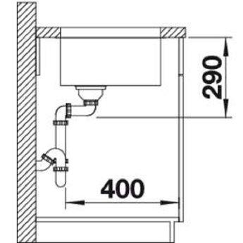 Spoelbak keuken - ANDANO 700U - Manuele of Automatische bediening