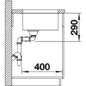 Spoelbak keuken - ANDANO 400/400U - Manuele of Automatische bediening