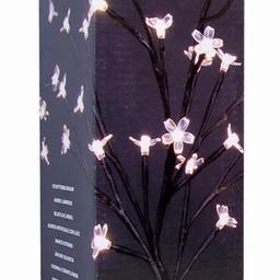 Silhouetboom 40cm op voet (24 LED´s)