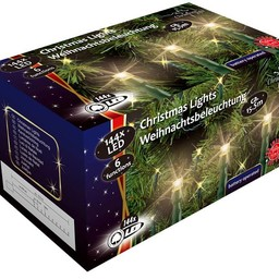 LED-Kerstverlichting (144 LED's) met 6 funkties