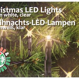 Kerstverlichting warm wit 120 LED´s