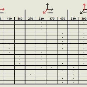 Elletipi Inbouw Prullenbak Road I625/4, inhoud 4x8L