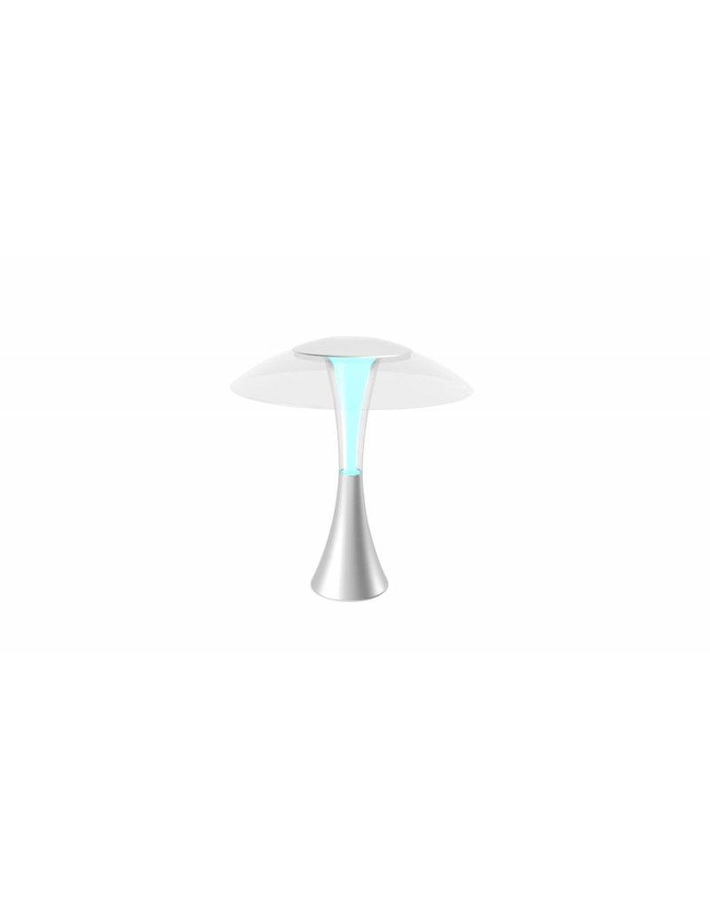 Jelly Fish tafellamp silver