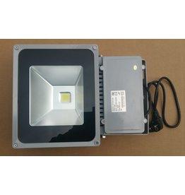 LED breedstraler 80W  grijs