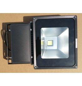 LED breedstraler 80W zwart