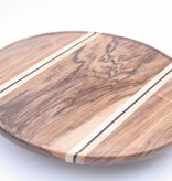 Beautiful pizza or pie cutting board or presentation dish.