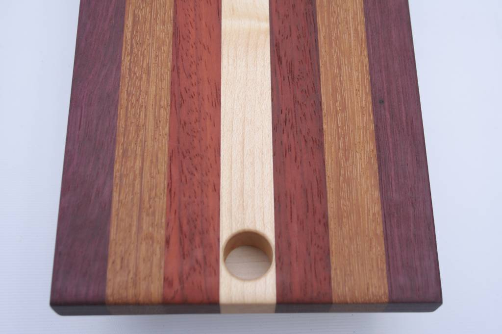 Colorful cheeseboard, attractive long design