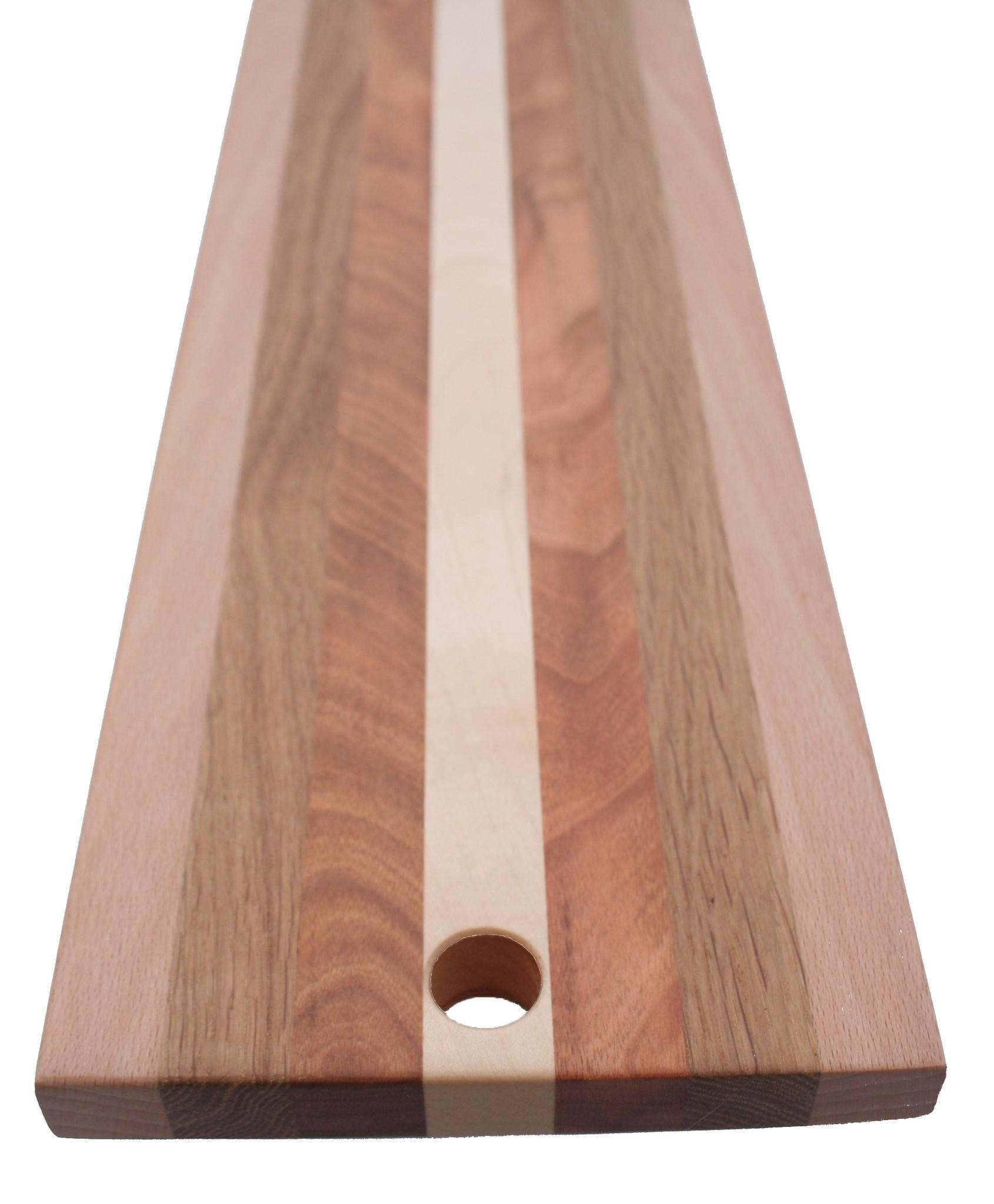 Kaasplank van louter Nederlands hout, esdoorn, kers, eik en beuk, verkrijgbaar in 3 formaten