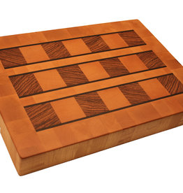 Kitchen Artwoods cuttingboard made of steamed beech, zerbawood and wengé