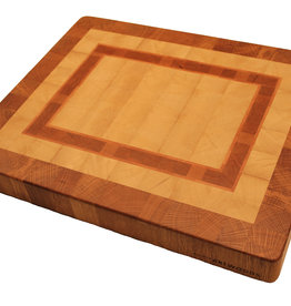 cuttingboard made of hornbeam, cherry, beech and oak