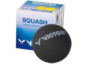 Victor  V-squashbal Dubbel geel