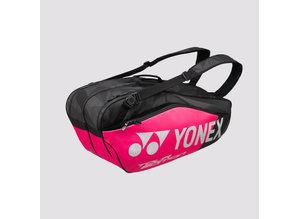 Yonex Pro racketbag 9826 zwart - roze