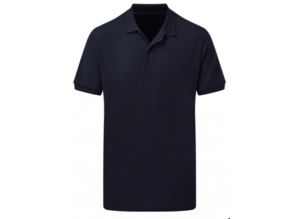 SG Poly Cotton Polo donkerblauw