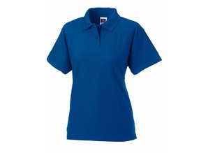 Russell Polo Blended Fabric dames