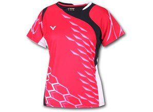 Victor Shirt National unisex red 6295