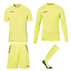 UHLSPORT SCORE GOALKEEPER SET FLUO YELLOW