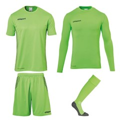 UHLSPORT SCORE GOALKEEPER SET FLUO GREEN
