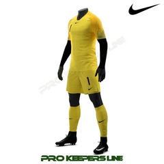 NIKE  WORLD CUP 2018 PROMO SS GK SET TOUR YELLOW/UNIVERSITY GOLD