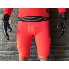 NIKE PRO HYPERCOOL PROMO SHORT BRIGHT CRIMSON