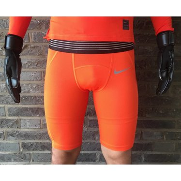 NIKE PRO HYPERCOOL PROMO SHORT RUSH ORANGE