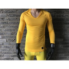 5d103fe19380 NIKE WORLD CUP 2018 PROMO SS GK SET TOUR YELLOW UNIVERSITY GOLD ...