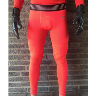 NIKE PRO HYPERCOOL PROMO LONG TIGHT BRIGHT CRIMSON