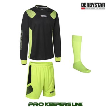 DERBYSTAR APONI PRO GK SET BLACK/YELLOW
