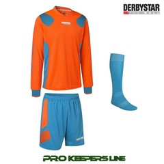 DERBYSTAR APONI PRO GK SET ORANGE/BLUE